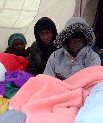 KULTURFORUM Hungerstreik Sendlinger Tor Nov 2014 (4)