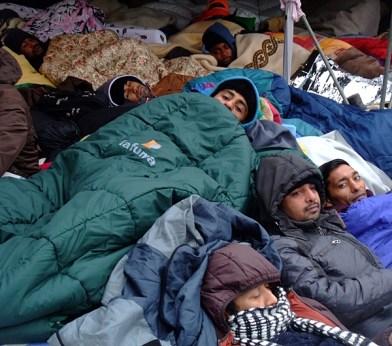 KULTURFORUM Hungerstreik Sendlinger Tor Nov 2014