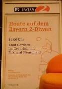 KULTURFORUM Eckhard Henscheid @ B2-Diwan, Literaturfest München 2014-12-02 (2)