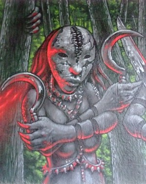 KULTURFORUM Graffiti Screaming Tribesmen (3)