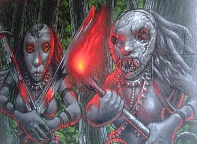 KULTURFORUM Graffiti Screaming Tribesmen