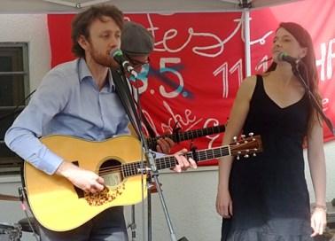 PETER DORAN + THE MOONBAND @ Straßenfest Glockenbachwerkstatt München 2015-05-10