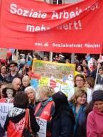 Streik SOZIAL- UND ERZIEHUNGSBERUFE 2015 München (7)