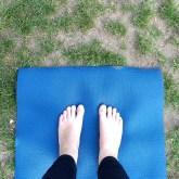 yoga in het park