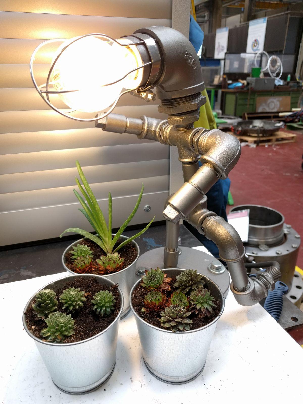 lamp mannetje DIY