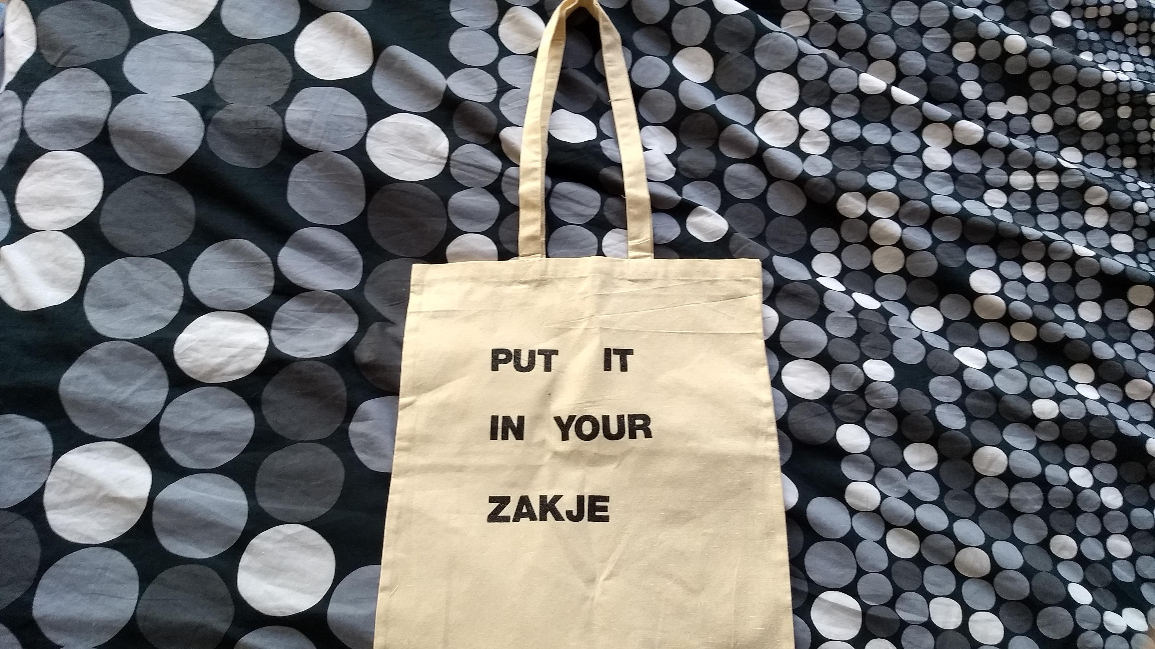 Tote Put it in your zakje