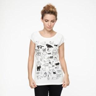 GOEDvandoen T-shirt 90 cats ThokkThokk