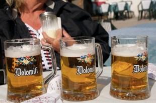 Beer at Lake Misurina