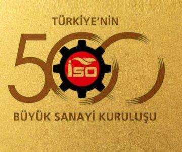 KAĞIT ÜRETİCİLERİ İSO İLK 500'DE