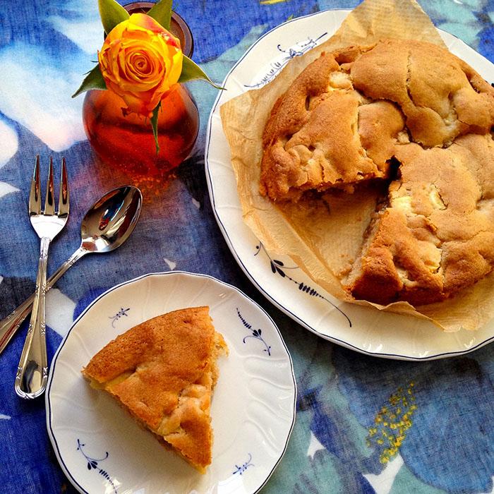 apple slice / Лесен ябълков кекс рецепта