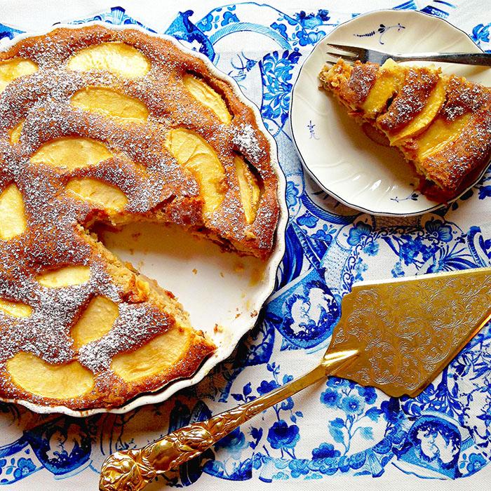Low Fat Apple Cake / Ниско Калоричен Ябълков Кейк рецепта