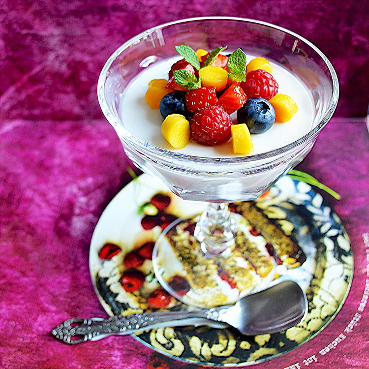 Vegan Coconut Panacotta/Веган Панакота с Кососово Мляко рецепта
