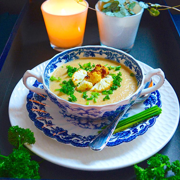 Cauliflower soup recipe / Крем Супа от Печен Карфиол рецепта