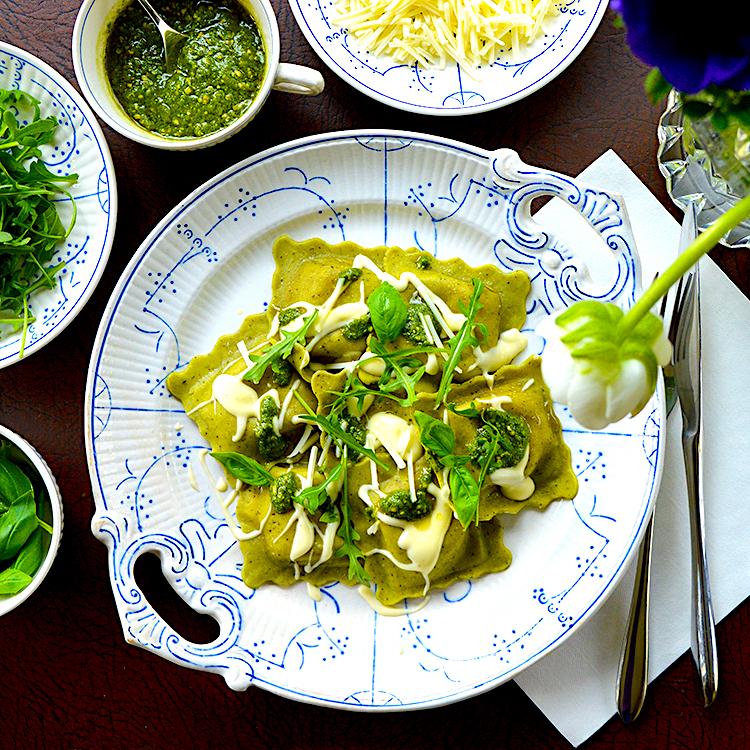 Spinach Raviolli recipe / Равиоли от Спанак рецепта