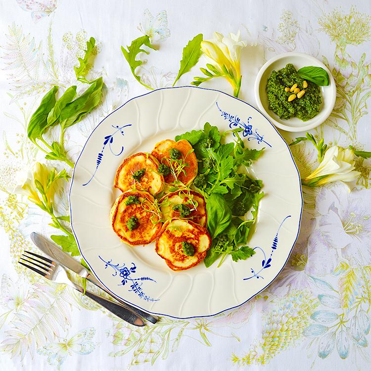 Ricotta Fritters recipe / Палачинки от Рикота и Пармезан рецепта