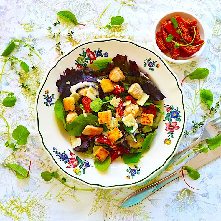 Cesar-Salad recipe / Салата Цезар рецепта