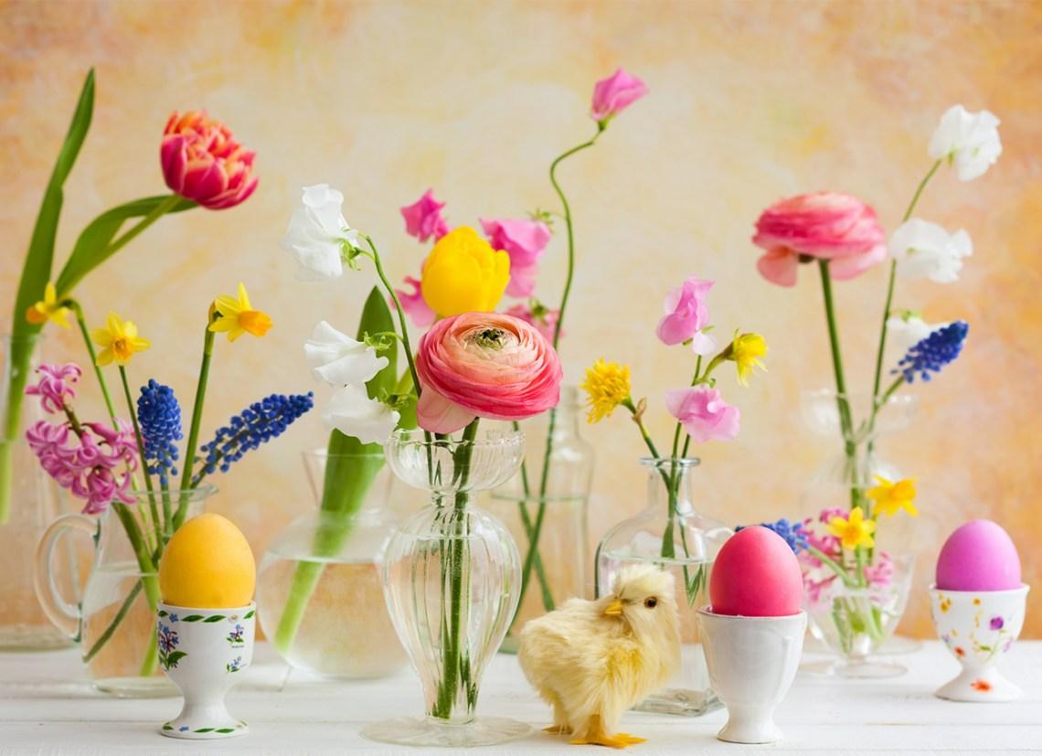Как да Боядисаме Великденски Яйца с Ориз