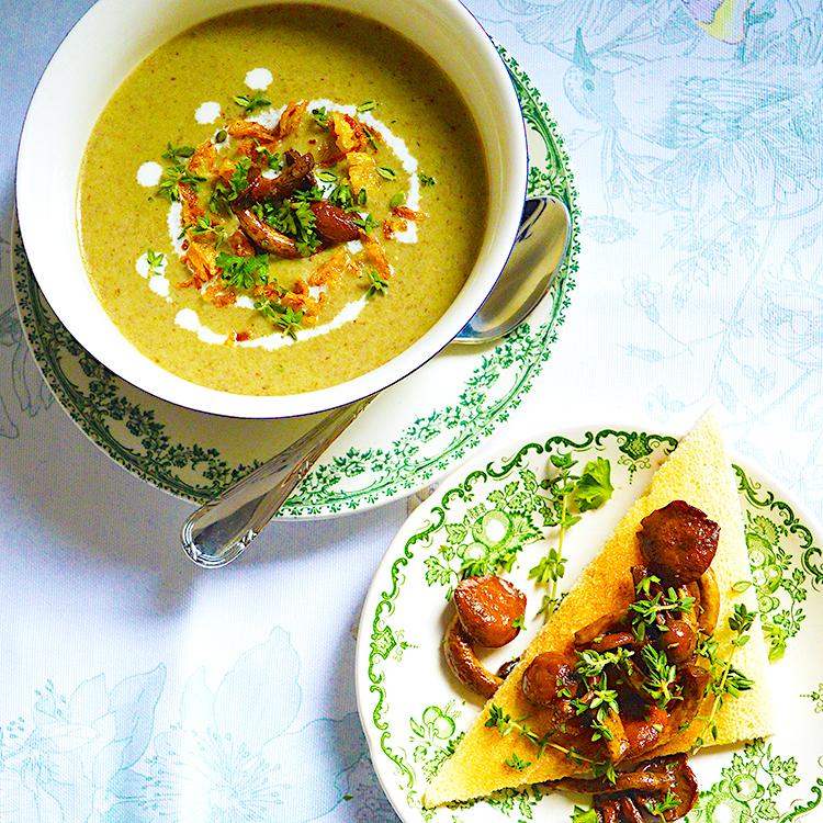 Mushroom Soup Recipe / Супа от Гъби рецепта