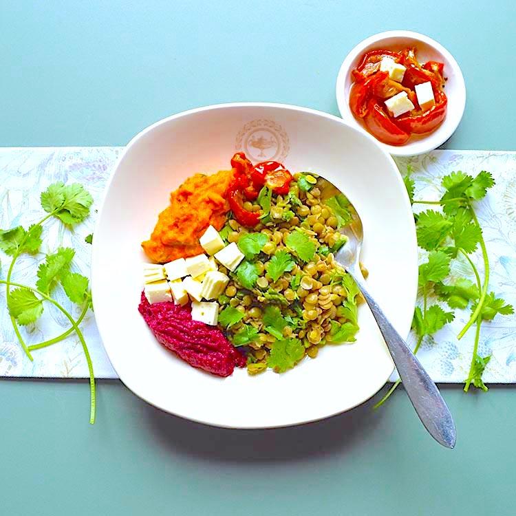 Lentils Salad Recipe/ Салата от Леща рецепта