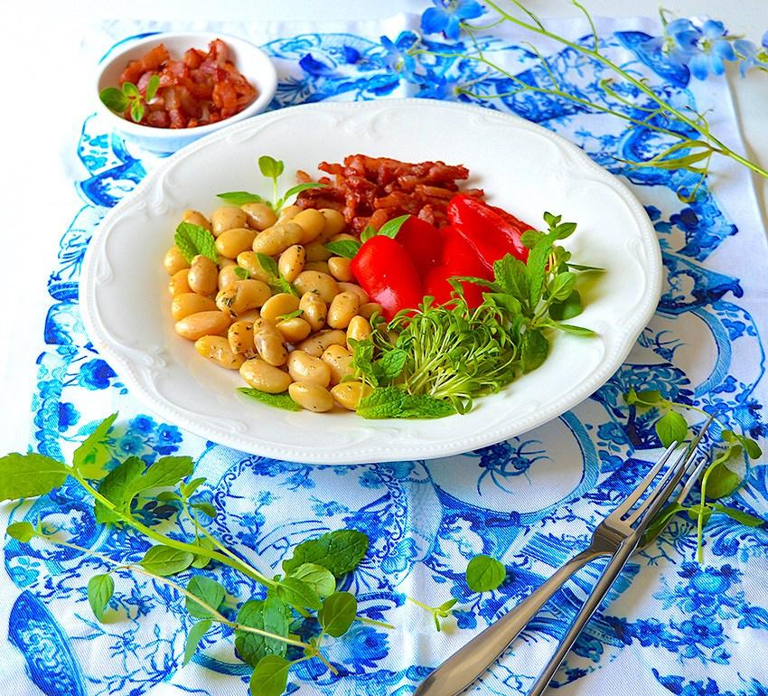 Summer Beans Salad