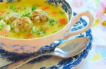 Meatball Soup/Супа Топчета