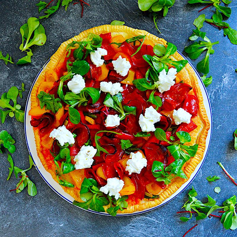 Puff Pastry Pizza - Пица от Бутер Тесто