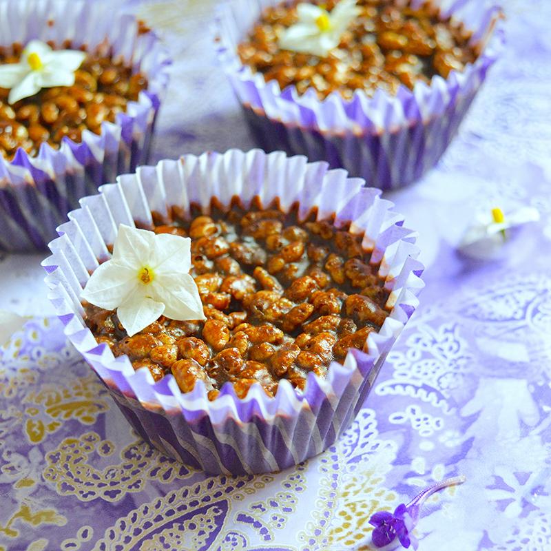 Rice Pops Chocolates / Фъстъчени Шоколадчета с Пукан Ориз