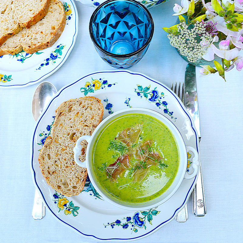 Spinach, Coconut & Courgette Soup / Супа от Спанак & Кокосово Мляко