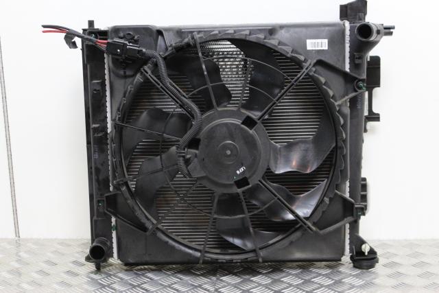 Hyundai Tucson Cooling Radiator Fan Motor