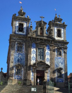 Many buildings such as this church have beautifully crafted ceramic tiles