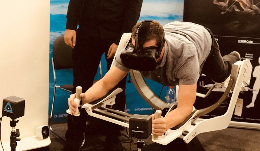 VR-Fitness Device