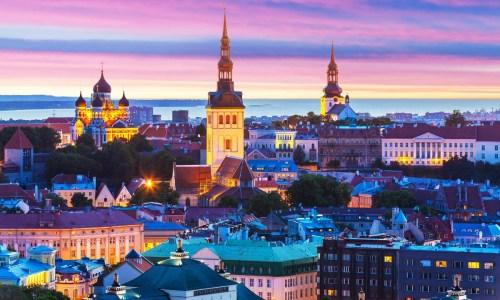 Таллин, Стокгольм, автобусом
