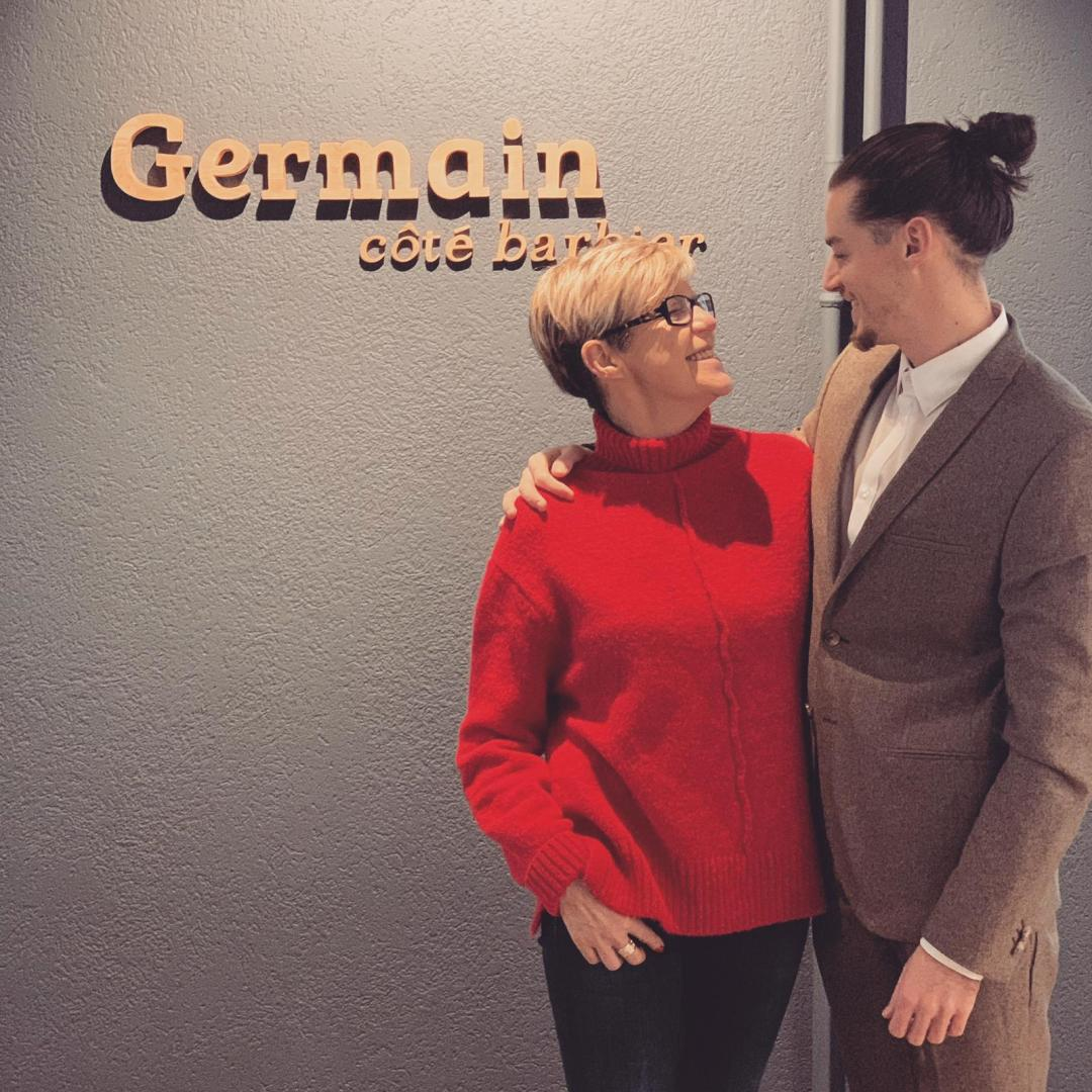 Germain et sa maman