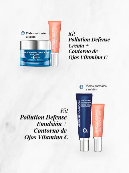 Kit anti polución y vitamina c