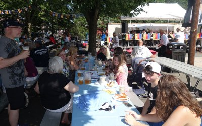 The Niebergall family at the Plattduetsche Volksfest – July 14, 2019