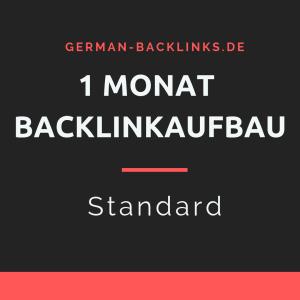 1 Monat Backlinkaufbau standard