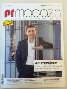 PR Magazin Cover