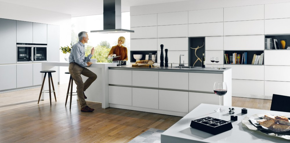 Schuller Glasline Matt Kitchen - Handleless Design cardiff kitchens