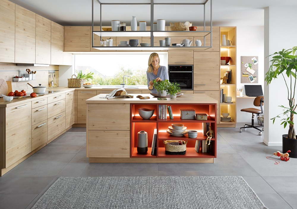 schuller wood effect kitchens cardiff