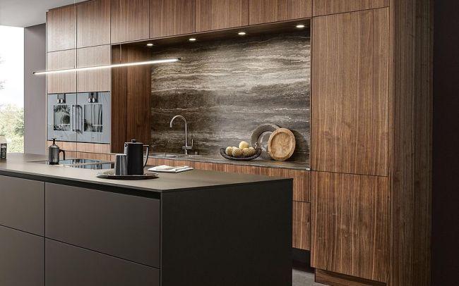 Next 125 German Kitchens wood veneer
