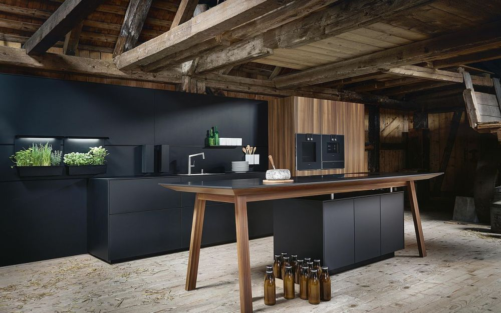 Next 125 real wood veneer kitchens - NX650
