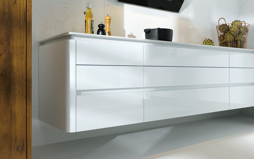 Next 125 German Gloss Kitchens Cardiff - NX501 High Gloss Lacquer