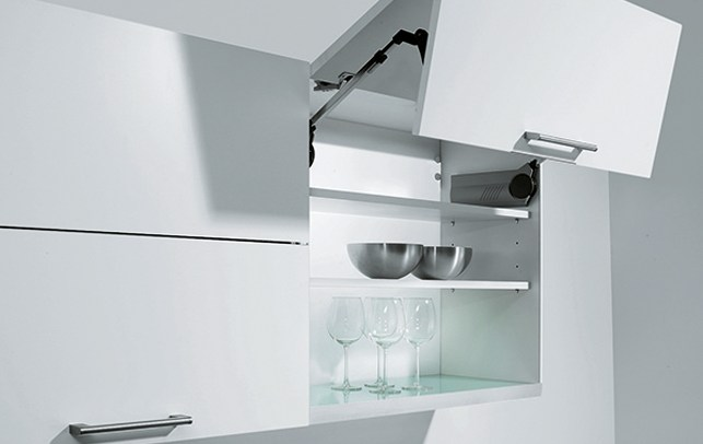 Schuller Kitchen Cardiff - Bi-Fold Wall Unit