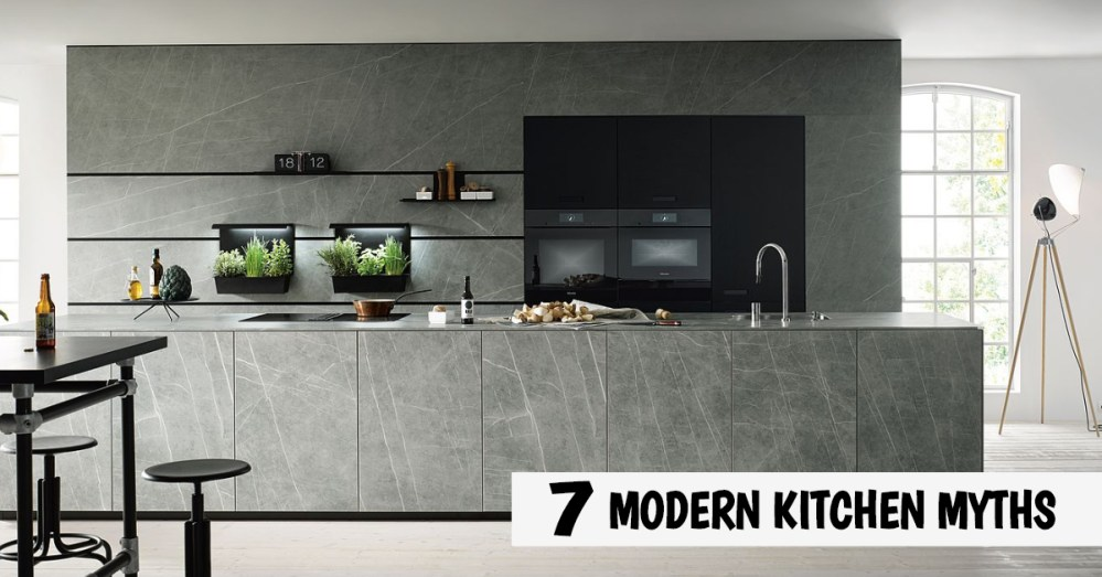 modern kitchen myths german kitchens cardiff