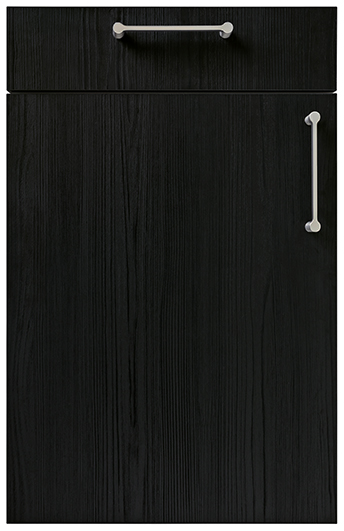 schuller black kitchen doors cardiff