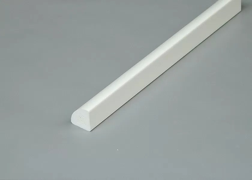 Dekorative Formteile Viertelstab PVCs, Recyclebares