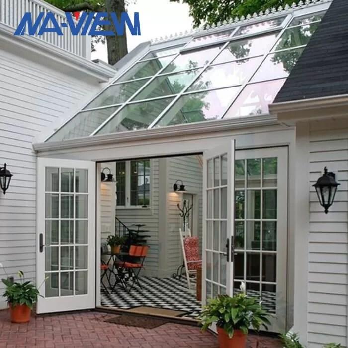 bestellte giebel dach sunroom patio einschliessungen plus kundengebundene farbe voraus