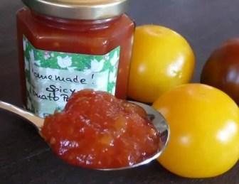 Spicy Tomato Jam Tomatenmarmelade Rezept German Abendbrot