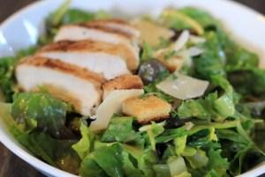 Caesar's Salad Foodblog Germanabendbrot
