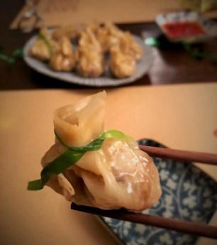 Wan Tans hausgemacht vegetarisch